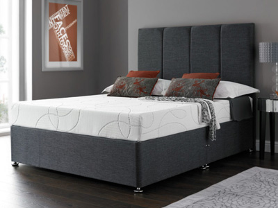 Giltedge Beds Eco Deluxe 3FT Single Divan Bed
