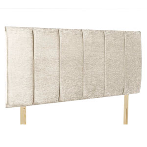 Giltedge Beds Oxford Cream 3FT Single Fabric Headboard