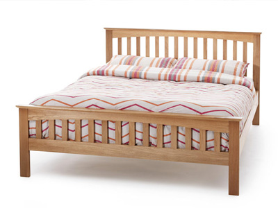 Serene Windsor 3FT Single Wooden Bedstead