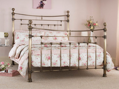 Serene Edmond 5FT Kingsize Metal Bedstead
