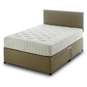 Star Master Pinerest 4FT Small Double Divan Bed