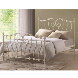 Time Living Inova 4FT Small Double Metal Bedstead