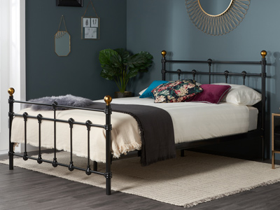 Birlea Atlas 4FT 6 Double Metal Bedstead