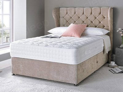 Giltedge Beds Sicily 1500 3FT Single Divan Bed