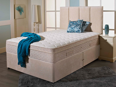 Giltedge Beds Wellington 2000 4FT 6 Double Divan Bed