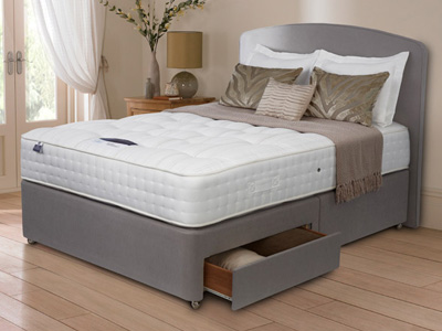 Silentnight Premier 1350 Naturals 5FT Kingsize Divan Bed