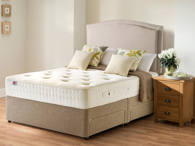 Rest Assured Belsay 5FT Kingsize Divan Bed