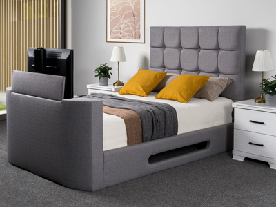 Sweet Dreams Jasmine 6FT Superking TV Bed