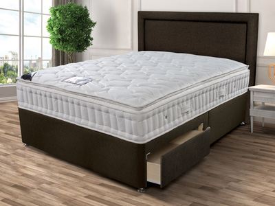 Sleepeezee New Backcare Superior 1000 4FT Small Double Divan Bed