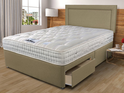 Sleepeezee New Backcare Luxury 1400 5FT Kingsize Divan Bed