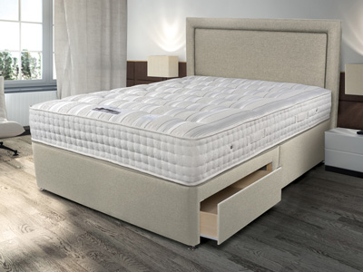 Sleepeezee Backcare Ultimate 2000 5FT Kingsize Divan Bed