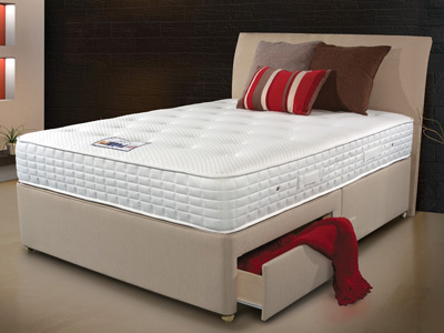 Sleepeezee Cool Sensations 1400 4FT 6 Double Divan Bed