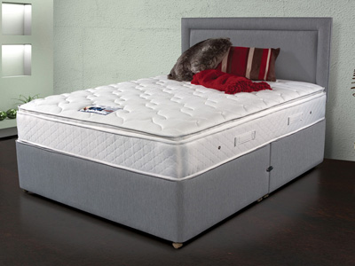 Sleepeezee Memory Comfort 800 3FT Single Divan Bed