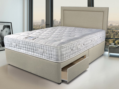 Sleepeezee Kensington 2500 4FT 6 Double Divan Bed