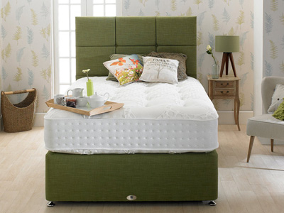 Shire Beds Eco Grand 4FT Small Double Divan Bed