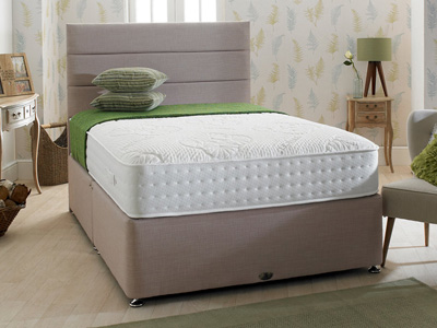 Shire Beds Eco Comfy 5FT Kingsize Divan Bed
