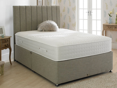 Shire Beds Eco Rest 4FT 6 Double Divan Bed