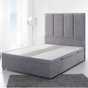 Giltedge Beds 6FT Superking Divan Base - Velvet Fabric