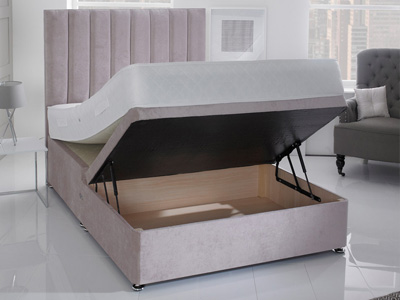 Giltedge Beds Half Opening 5FT Kingsize Ottoman Base