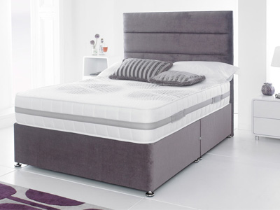 Giltedge Beds Senator 2000 4FT Small Double Divan Bed