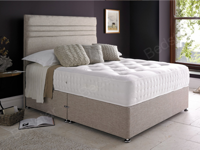 Giltedge Beds Backcare Supreme 2000 5FT Kingsize Divan Bed