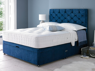 Giltedge Beds Sanctuary 1000 4FT Small Double Divan Bed