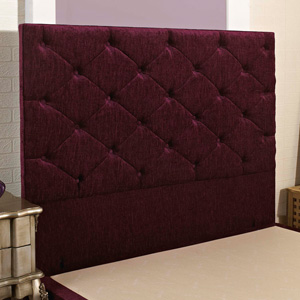 Giltedge Beds Monte Carlo 5FT Kingsize Headboard - Chenille Fabric