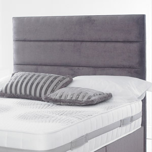 Giltedge Beds Katie 4FT Small Double Headboard - Velvet Fabric