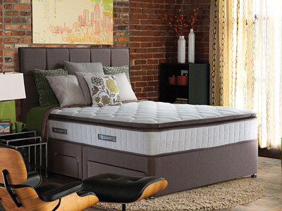 Sealy Nostromo 4FT 6 Double Divan Bed