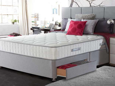 Sealy Casoli 1200 5FT Kingsize Divan Bed