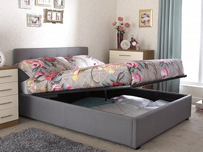 Milan Bed Company Regal 4FT 6 Double Ottoman Bed