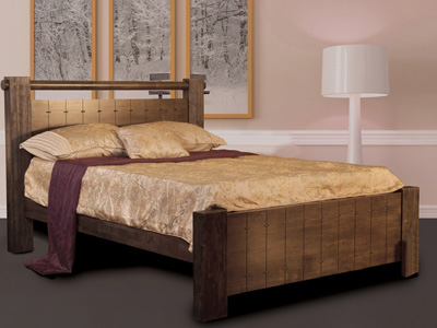Sweet Dreams Mozart 4FT 6 Double Wooden Bedstead