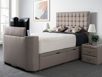 Sweet Dreams Image Classic 6FT Superking TV Bed