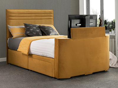 Sweet Dreams Image Chic 6FT Superking TV Bed