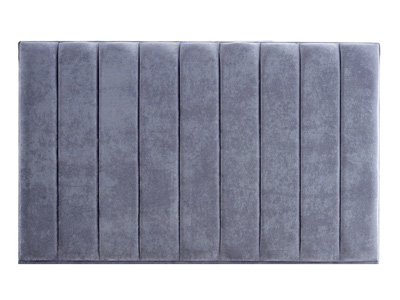 Giltedge Beds Empire 5FT Kingsize Chenille Fabric Headboard - On Struts