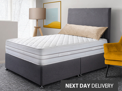 Giltedge beds Flex 150 Firm 4FT Small Double Divan Bed