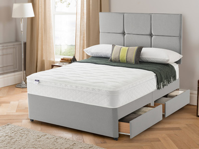 Silentnight Star Indulge 6FT Superking Divan Bed