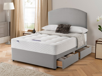 Silentnight Mirastar Ortho 3FT Single Divan Bed