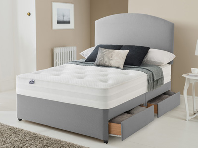 Silentnight Pocket star 1000 3FT Single Divan Bed