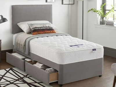 Silentnight Mirastar Comfort 3FT Single Divan Bed