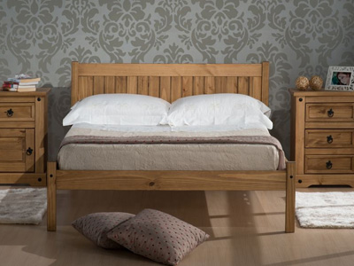 Birlea Rio 3FT Single Wooden Bedstead