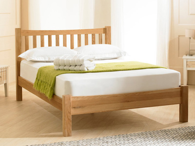 Emporia Beds Milan 5FT Kingsize Wooden Bedstead