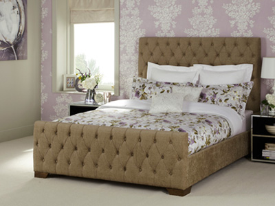Serene Lillian 5FT Kingsize Fabric Bedframe