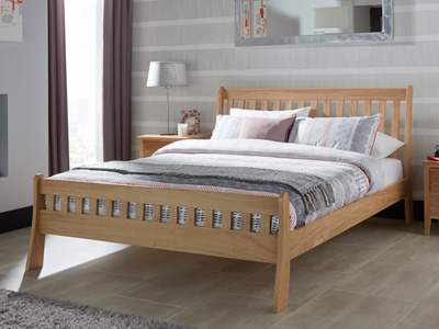 Serene Colchester 4FT 6 Double Wooden Bedstead