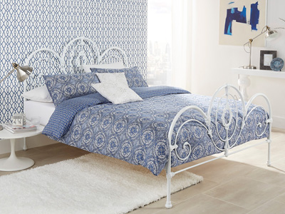Serene Harriet 4FT 6 Double Metal Bedstead