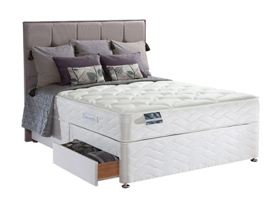 Sealy Pearl Latex 5FT Kingsize Divan Bed