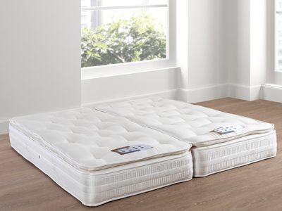 Giltedge Beds Milan 2000 Zip & Link 5FT Kingsize Mattress