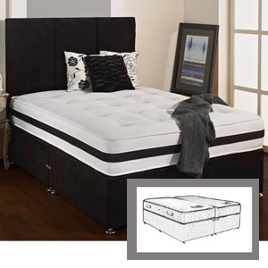 Giltedge Beds Buckingham Zip & Link 5FT Kingsize Divan Bed