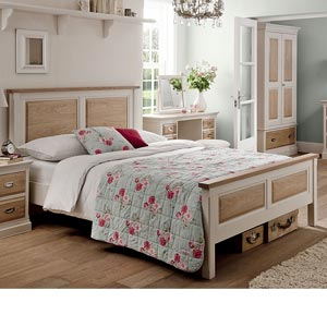 Willis Gambier Milton 4FT 6 Double Wooden Bedstead