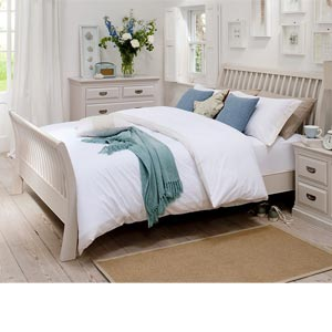 Willis Gambier Maine High Footend 4FT 6 Double Wooden Bedstead